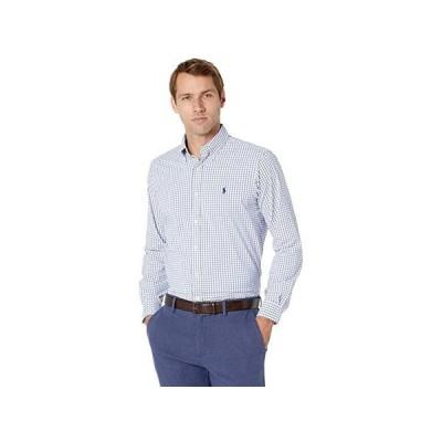ポロ・ラルフローレン Long Sleeve Performance Woven メンズ シャツ トップス Blue/White