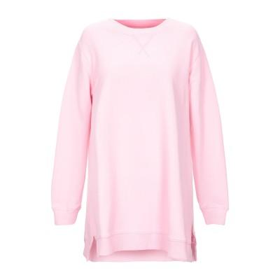 MM6 メゾン マルジェラ MM6 MAISON MARGIELA スウェットシャツ ピンク XS コットン 100% / ポリウレタン スウェット