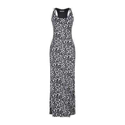 FISICO ロングワンピース&ドレス ホワイト M ナイロン 89% / ポリウレタン 11% ロングワンピース&ドレス