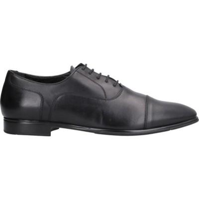 ア テストーニ A.TESTONI メンズ シューズ・靴 laced shoes Black