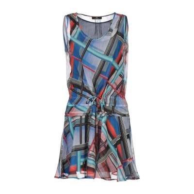 PS PAUL SMITH ミニワンピース&ドレス ブルー 40 キュプラ 100% ミニワンピース&ドレス