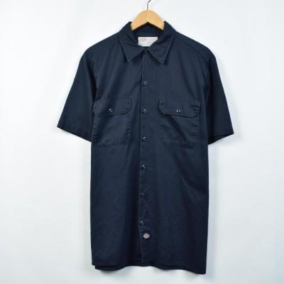 ディッキーズ Dickies 半袖 ワークシャツ メンズM /eaa026619
