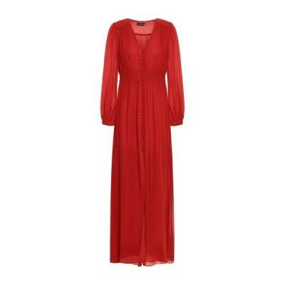 NICHOLAS シルクドレス ファッション  レディースファッション  ドレス、ブライダル  パーティドレス 赤茶色