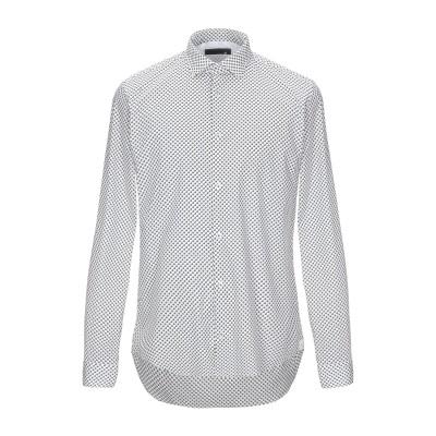 マニュエル リッツ MANUEL RITZ シャツ ホワイト 41 コットン 97% / ポリウレタン 3% シャツ