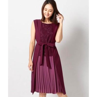 ドレス 2WAYノースリーブドレス