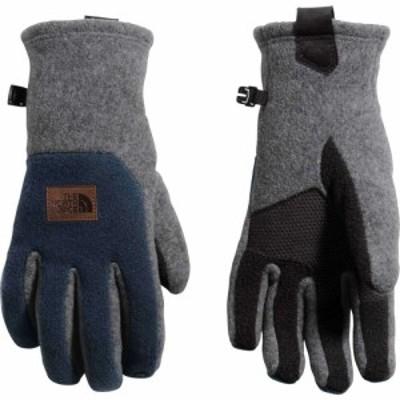 ザ ノースフェイス The North Face メンズ 手袋・グローブ Fleece Patch Gloves Tnf Md Gry Heathr/Tnf Blk