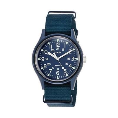 [タイメックス] 腕時計 MK1 アルミニウム ナイロンベルト TW2R37300 正規輸入品 ブルー