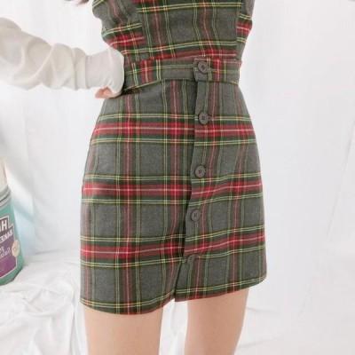 GIRLS RULE レディース スカート Lisa Burton Check Skirt