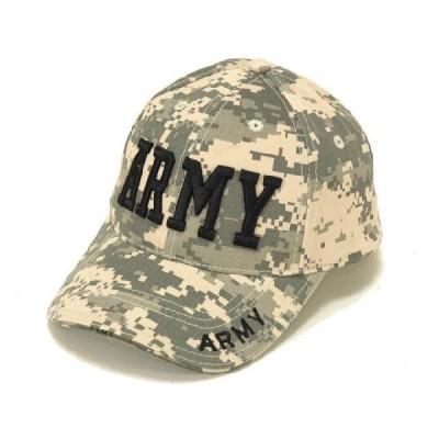 ARMY(ACUデジタルカモ)インシグニア・デザインキャップ 迷彩 刺繍 軍帽子ミリタリー ROTHCO/ロスコ