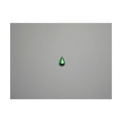 新潟 燕三条 純チタンピアス 片耳 ティア フローラルグリーン緑  金属アレルギーの方も安心