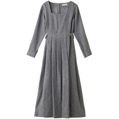 RIM.ARK リムアーク Basket tweed noble dress/ドレス レディース グレー 38