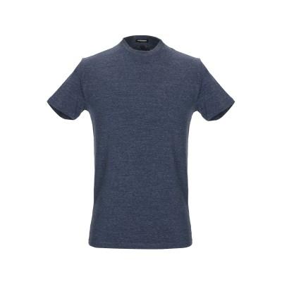 ディースクエアード DSQUARED2 アンダーTシャツ ダークブルー M 指定外繊維(紙) 95% / ポリウレタン 5% アンダーTシャツ