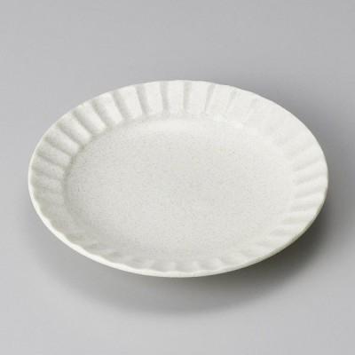 (業務用・14cm)白水晶しのぎ40皿[33857-108](入数:1)