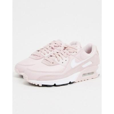 ナイキ Nike レディース スニーカー エアマックス 90 シューズ・靴 Air Max 90 trainers in soft pink