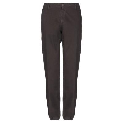 LIU •JO MAN パンツ ダークブラウン 28 コットン 97% / ポリウレタン 3% パンツ