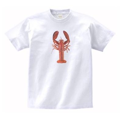 ロブスター 動物・生き物 Tシャツ