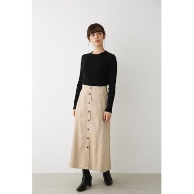 【アヴァンリリィ】 コーデュロイナロースカート レディース O/WHT1 FREE AVAN LILY