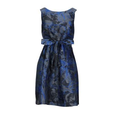 LANACAPRINA ミニワンピース&ドレス ブライトブルー 42 ポリエステル 100% ミニワンピース&ドレス