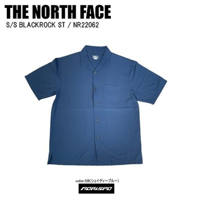 THE NORTH FACE ノースフェイス tシャツ S/S BLACKROCK ST ブラックロックST NR22062 Sブルー