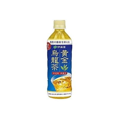 [トクホ] 伊藤園 黄金烏龍茶 500ml×24本入×2ケース 48本