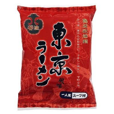 自家製低温熟成麺使用 昔ながらの東京中華そば醤油味 かつおと煮干しの昔懐かしい下町のラーメン