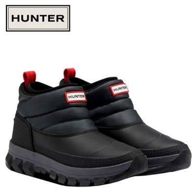 期間限定お買い得プライス HUNTER ハンター オリジナル インシュレイティド アンクル スノー ブーツ WFS2107WWU-BLK レディース シューズ 靴 くつ