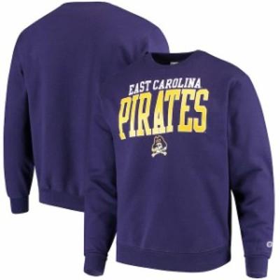 Champion チャンピオン スポーツ用品  Champion ECU Pirates Purple Eco Powerblend Expansion Pullover Sweatshirt