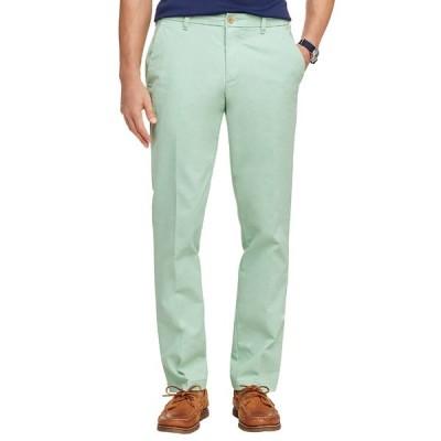 アイゾッド カジュアルパンツ ボトムス メンズ  Performance Chino Straight Fashion Pants MEADOW