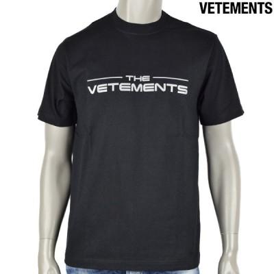 VETEMENTS ヴェトモン THE LOGO T-SHIRT/ブラック/ UE51TR410B  BLACK