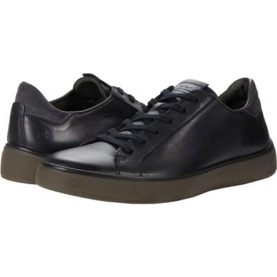エコー ECCO メンズ スニーカー シューズ・靴 Street Tray Classic Sneaker Black/Magnet