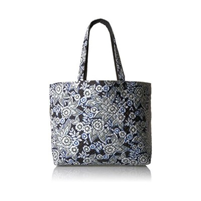ヴェラブラッドリーVera Bradley Women's Signature Cotton Grand Tote Bag, Snow Lotus