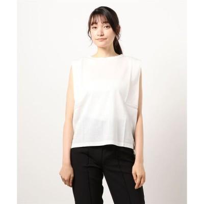 tシャツ Tシャツ ハリジェンヌクルーネックノースリーブ