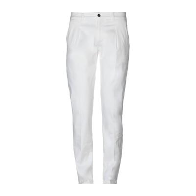 STILOSOPHY INDUSTRY パンツ ホワイト 44 コットン 97% / ポリウレタン 3% パンツ