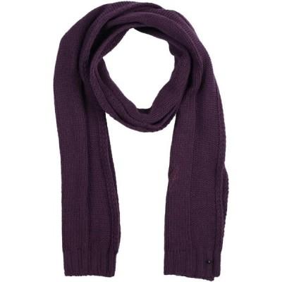 アルマーニ EMPORIO ARMANI レディース マフラー・スカーフ・ストール scarves Deep purple