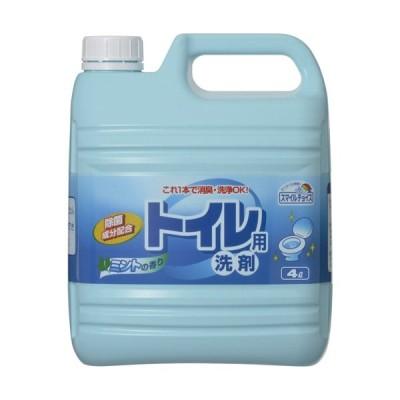 ミツエイ スマイルチョイス トイレ用洗剤 業務用 4L 1本