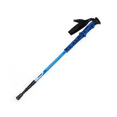 全国送料無料!JXSHQS Outdoor Ultralight Carbon Trekking Pole Colorful Straight Walking Stick Carbon Rod Three Section Telescopic Walk