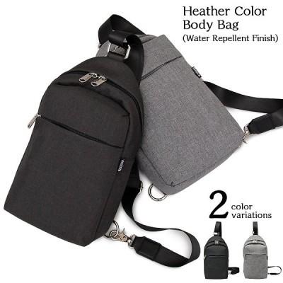 ボディバッグ ショルダーバッグ 撥水加工 バッグ 斜め掛け メッセンジャー デイリーユース 鞄 メンズ