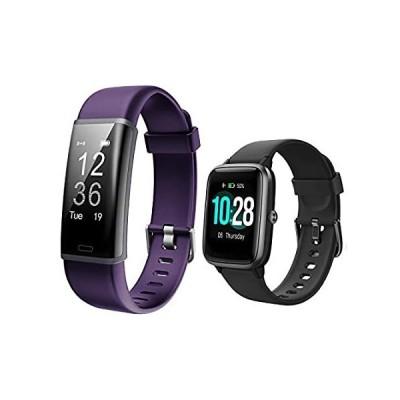 特別価格Lintelek Fitness Tracker ID130Plus HR,Bundle with Smart Watch ID205L (2 Ite好評販売中