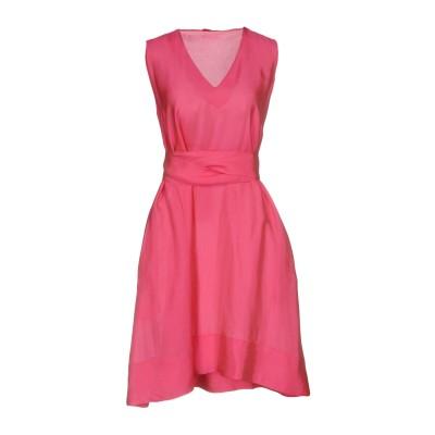 MALÌPARMI ミニワンピース&ドレス フューシャ 42 82% レーヨン 18% シルク ミニワンピース&ドレス