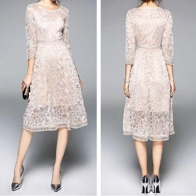 結婚式 ドレス お呼ばれ ワンピース 30代 20代 40代 お呼ばれ 大きいサイズ 二次会 レディース ロマ