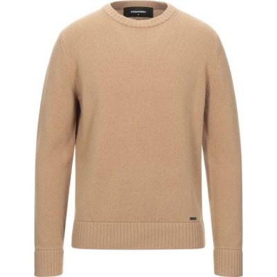 ディースクエアード DSQUARED2 メンズ ニット・セーター トップス sweater Camel
