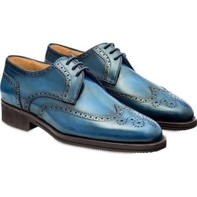パーカーソン Pakerson メンズ 革靴・ビジネスシューズ ダービーシューズ シューズ・靴 Bay Pisa Derby Shoe Light Blue