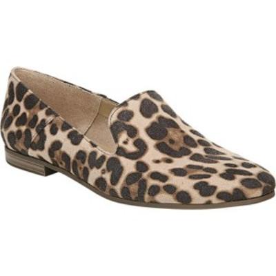 ソウルニュトライザー レディース サンダル シューズ Janelle Slip-On Flat Natural Cheetah Print Fabric