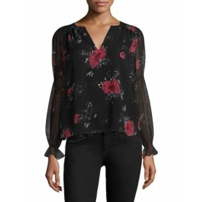 ジョイー レディース トップス シャツ Anjanette Silk Floral-Print Blouse