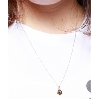 ネックレス idealismsound イデアリズムサウンド / 10k gold stone necklace (Onyx) 10Kゴールドストーン