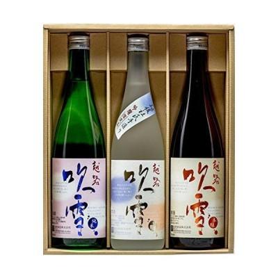 高野酒造 越路吹雪 飲み比べセット KF-40 日本酒 新潟県 720mlx3本