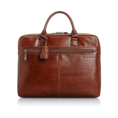 [ミラショーン] ビジネスバッグ A4ジャスト アルテ キャメル