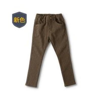 branshes(ブランシェス)プレミアムストレッチチェック柄パンツ【お取り寄せ商品】