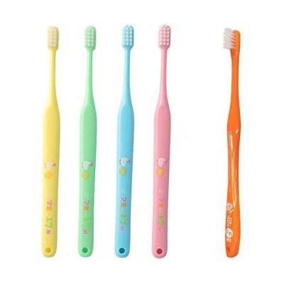 マミー17 歯ブラシ (仕上げ磨き用) M(ふつう) × 4本+ 艶白(つやはく) 仕上げ磨き用 歯ブラシ × 1本 MS(やややわらかめ)