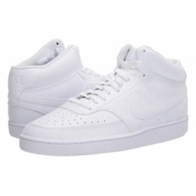 Nike ナイキ メンズ 男性用 シューズ 靴 スニーカー 運動靴 Court Vision Mid White/White/White【送料無料】